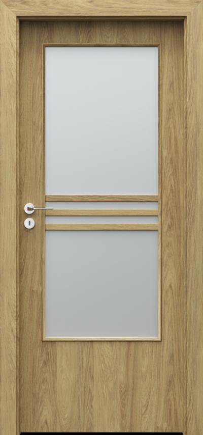 Drzwi wewnętrzne Porta STYL 3 Okleina CPL HQ 0,2 ***** Hikora Naturalna