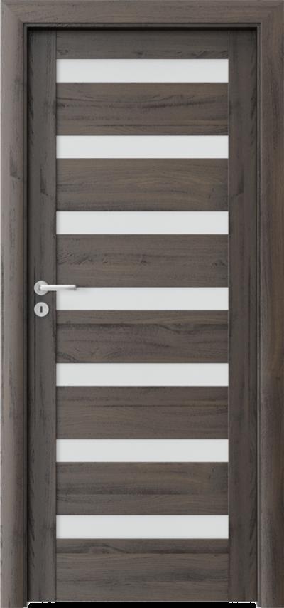 Drzwi wewnętrzne Porta VERTE HOME, D D.7 Okleina Portasynchro 3D *** Dąb Ciemny