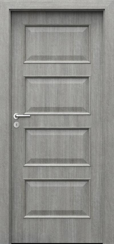 Drzwi wewnętrzne Porta NOVA 4.1 Portalamino**** Dąb Srebrzysty