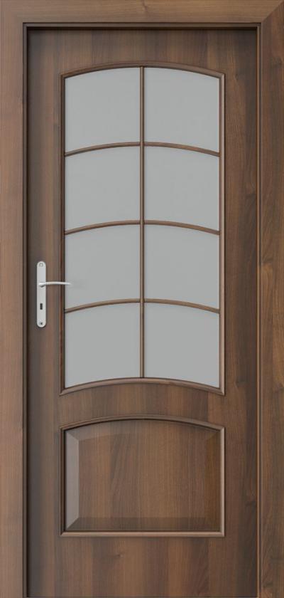 Drzwi wewnętrzne Porta NOVA 6.4 Okleina Portadecor *** Orzech