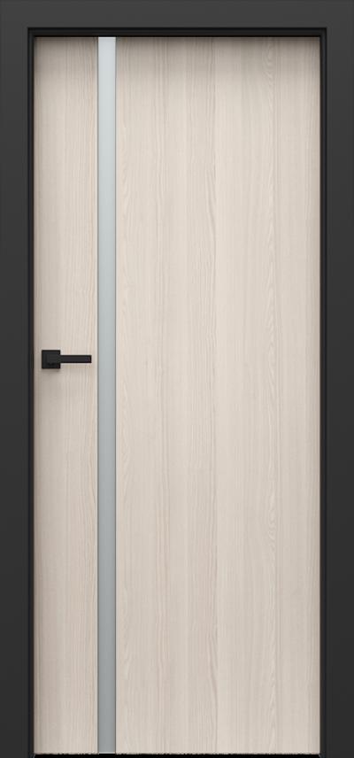 Drzwi wewnętrzne Porta LOFT 4.A Okleina CPL HQ 0,2 ***** Orzech Bielony
