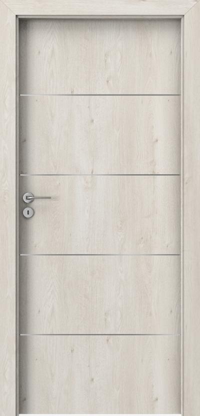 Drzwi wewnętrzne Porta LINE E.1 Okleina Portaperfect 3D **** Dąb Skandynawski