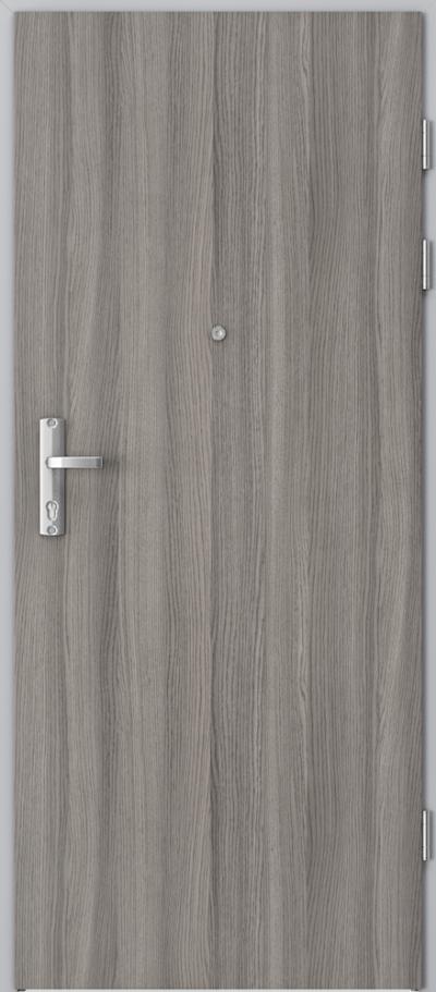 Drzwi wejściowe do mieszkania EXTREME RC3 płaskie Okleina CPL HQ 0,2 ***** Dąb Milano 4
