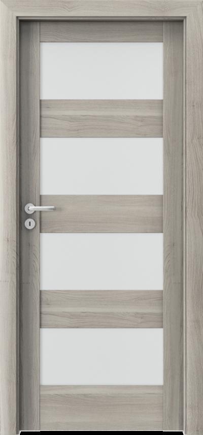 Drzwi wewnętrzne Porta VERTE HOME, L L.4 Okleina Portasynchro 3D *** Akacja Srebrna