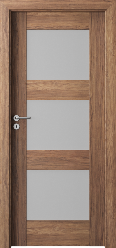 Drzwi wewnętrzne Porta VERTE PREMIUM, B B.3 Okleina Portaperfect 3D **** Dąb Kalifornia