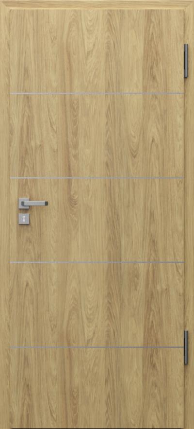 Drzwi techniczne Porta SILENCE 37 dB + EI30 intarsje 6