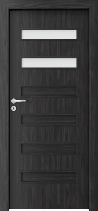 Interior doors Porta FIT F.2 CPL HQ 0.2 veneer ***** Structure Dark