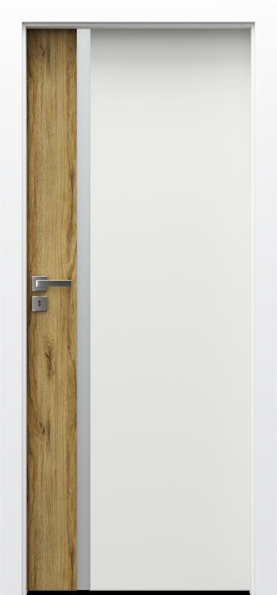 Drzwi wewnętrzne Porta DUO 4.A Okleina Portadecor *** Dąb Catania