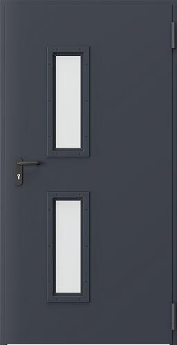 Drzwi techniczne Metalowe EI 60 1