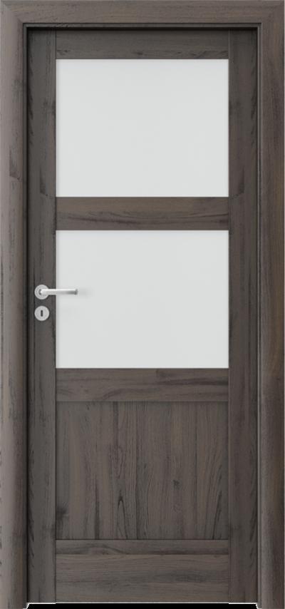 Drzwi wewnętrzne Porta VERTE HOME, N N.2 Okleina Portasynchro 3D *** Dąb Ciemny