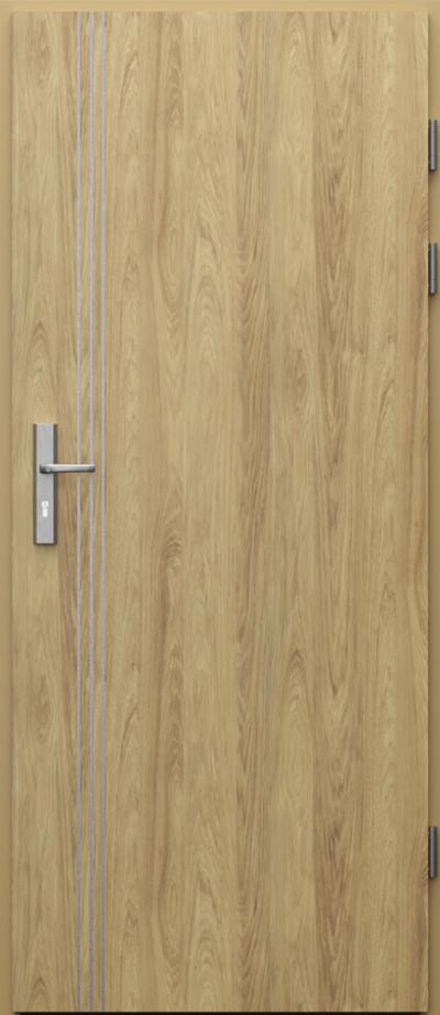 Podobne produkty                                  Drzwi techniczne                                  Akustyczne 27dB z ośc. metal + intarsje 3 CPL HQ