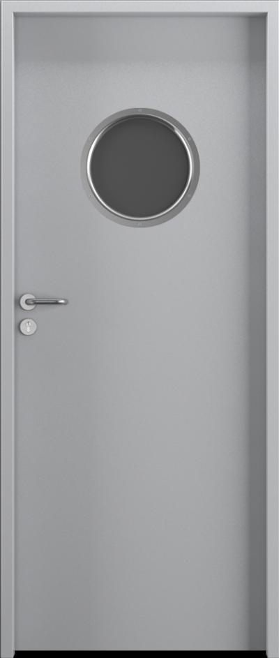 Drzwi techniczne Steel SOLID 4