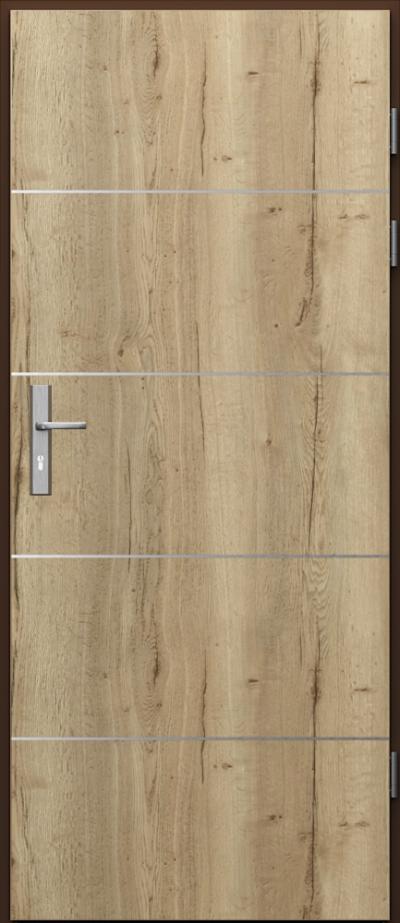 Podobne produkty                                  Drzwi techniczne                                  Akustyczne 27dB ukł. pionowy + intarsje 6