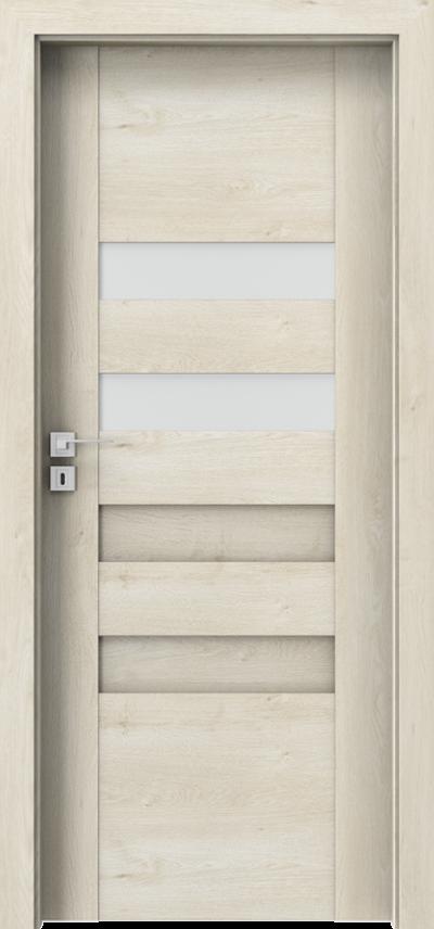 Drzwi wewnętrzne Porta KONCEPT H.2 Okleina Portaperfect 3D **** Dąb Skandynawski