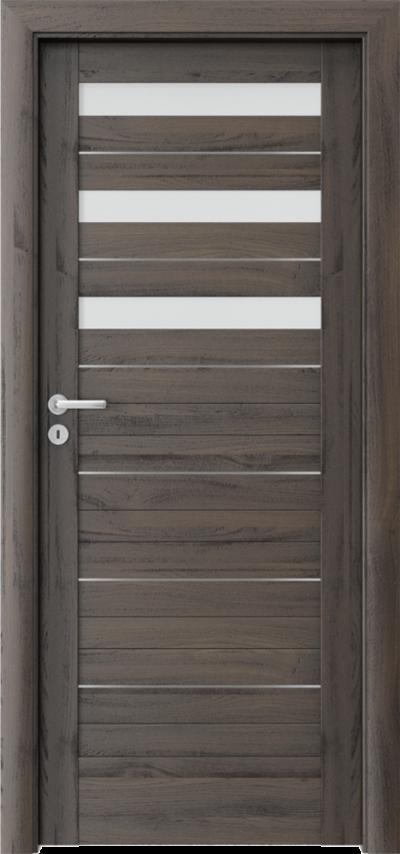 Drzwi wewnętrzne Porta VERTE HOME D.3 intarsje