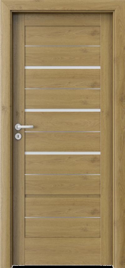 Drzwi wewnętrzne Porta VERTE HOME G.3 intarsje