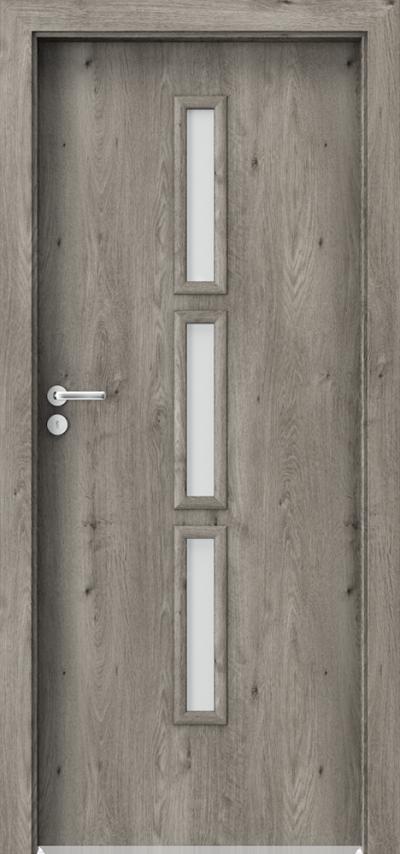 Drzwi wewnętrzne Porta GRANDDECO 5.2 Okleina Portaperfect 3D **** Dąb Syberyjski