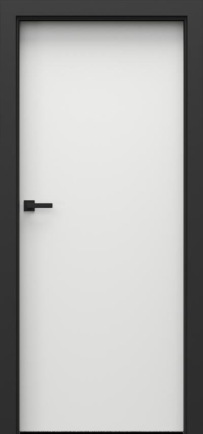 Interiérové dvere Porta LOFT 1.1 Laminát CPL HQ 0,2 *****  Biela