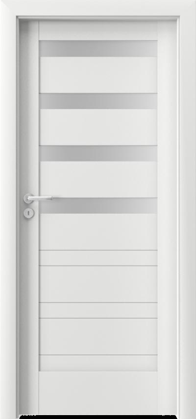 Drzwi wewnętrzne Porta VERTE HOME, D D.4 Okleina Premium **** Biały Premium