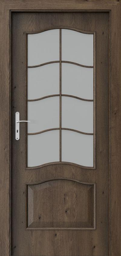 Interior doors Porta NOVA 7.4 Portaperfect 3D veneer **** South Oak