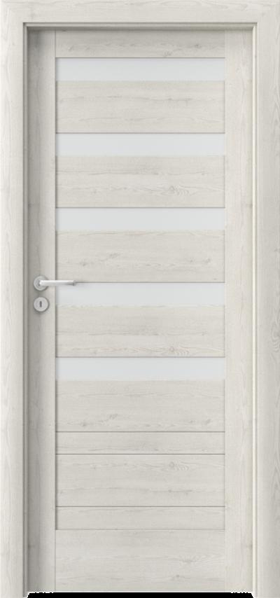 Drzwi wewnętrzne Porta VERTE HOME, D D.5 Okleina Portasynchro 3D *** Sosna Norweska