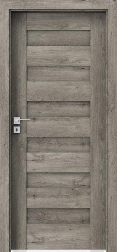 Drzwi wewnętrzne Porta KONCEPT C.0 Okleina Portaperfect 3D **** Dąb Syberyjski