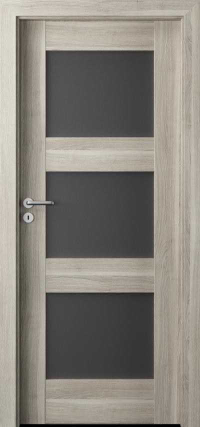 Drzwi wewnętrzne Porta VERTE PREMIUM, B B.3 Okleina Portasynchro 3D *** Akacja Srebrna