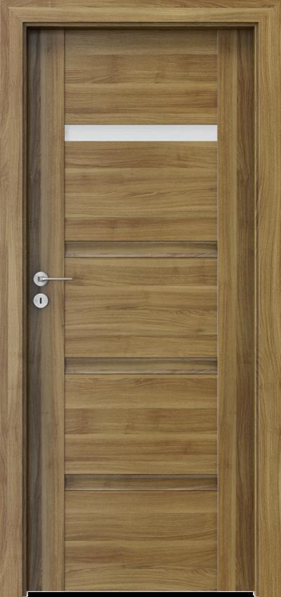 Drzwi wewnętrzne Porta INSPIRE C.1 Okleina Portasynchro 3D *** Akacja Miodowa
