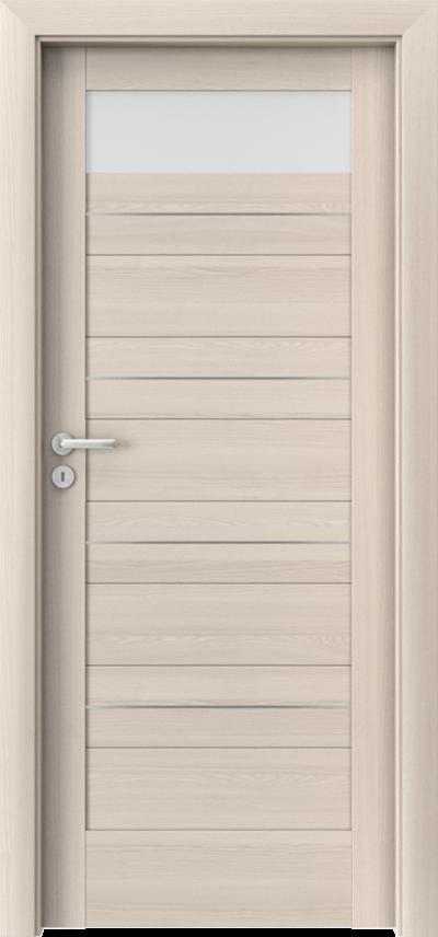 Drzwi wewnętrzne Porta VERTE HOME, C C.1 intarsje Okleina Portadecor *** Orzech Bielony