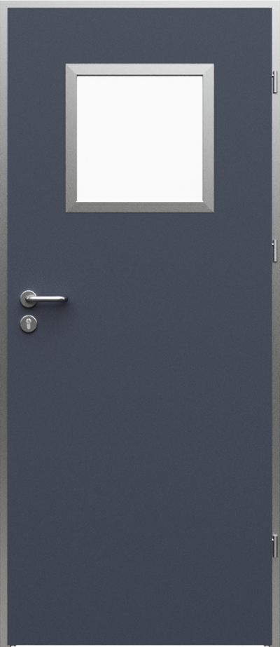 Technical doors AQUA 2 HPL laminate ****** Anthracite HPL CPL