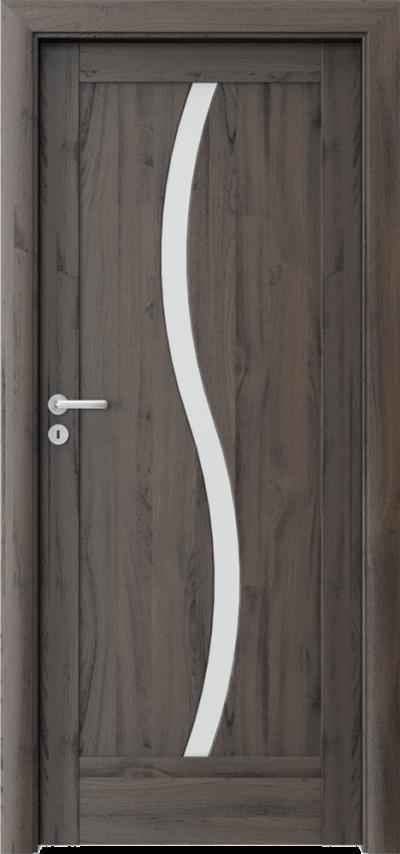 Drzwi wewnętrzne Porta VERTE HOME, E-F E.1 Okleina Portasynchro 3D *** Dąb Ciemny