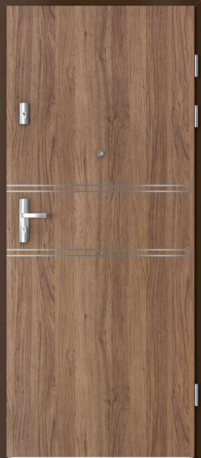 Podobne produkty Drzwi wejściowe do mieszkania KWARC intarsje 4