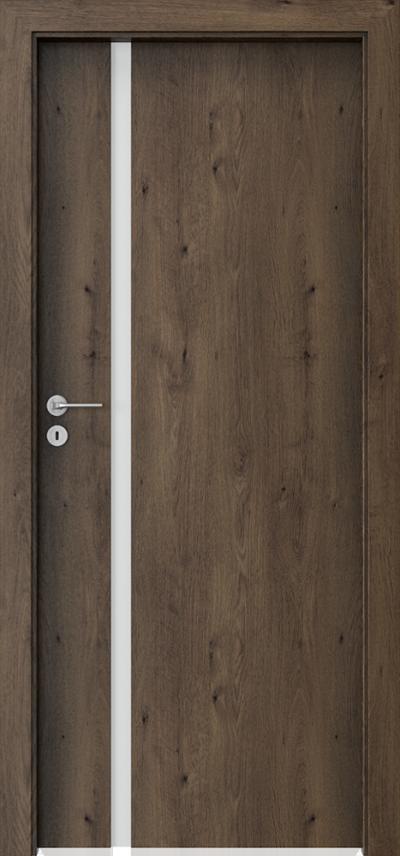 Drzwi wewnętrzne Porta FOCUS 4.A Okleina Portaperfect 3D **** Dąb Południowy