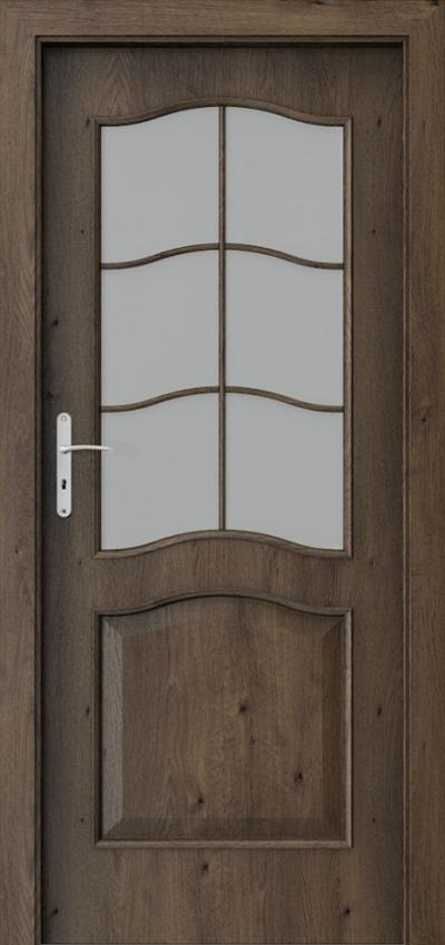 Interior doors Porta NOVA 7.2 Portaperfect 3D veneer **** South Oak