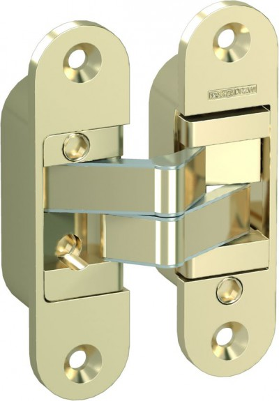 Accessories Hinges and hinge covers 4D hinge – door leaf and door frame part gold METAL Gold