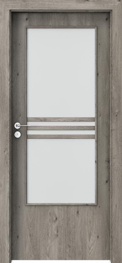 Drzwi wewnętrzne Porta STYL 3 Okleina Portaperfect 3D **** Dąb Syberyjski