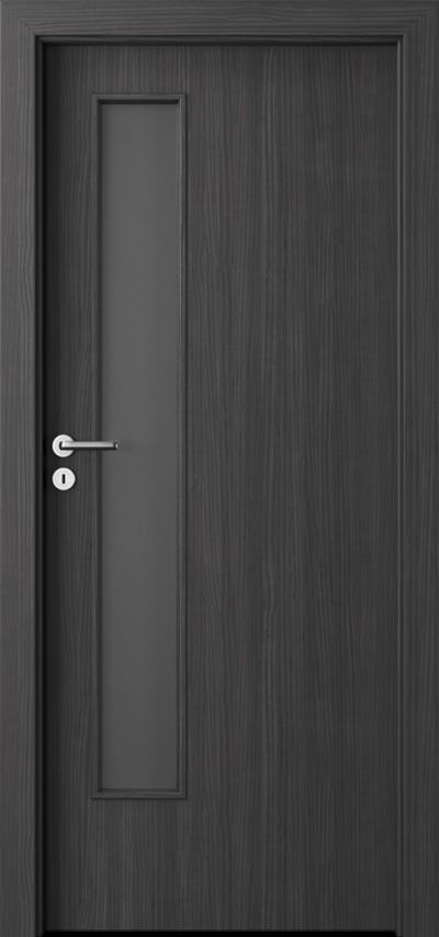 Drzwi wewnętrzne Porta CPL 1.5 Okleina CPL HQ 0,2 ***** Struktura ciemny