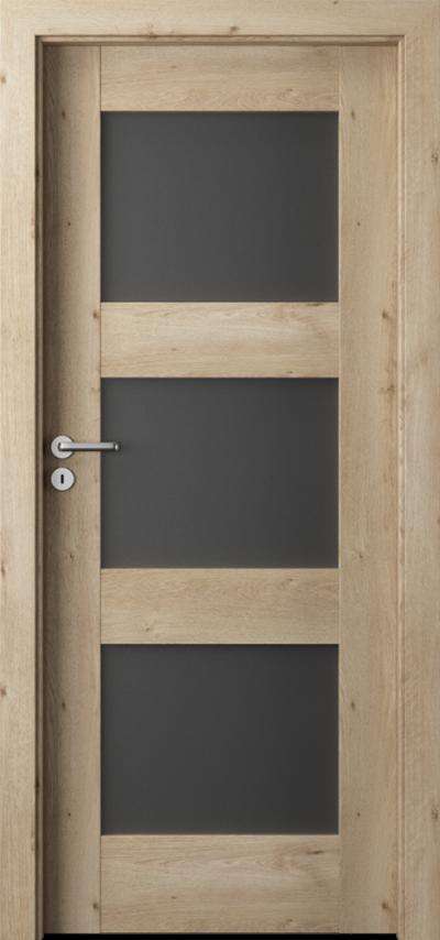 Drzwi wewnętrzne  Porta VERTE PREMIUM, B B.3 Okleina Portaperfect 3D **** Dąb Klasyczny