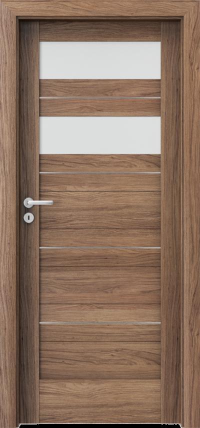 Drzwi wewnętrzne Porta VERTE HOME, C C.2 intarsje Okleina Portaperfect 3D **** Dąb Kalifornia