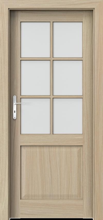Drzwi wewnętrzne CORDOBA szpros Okleina Naturalna Dąb Satin **** Dąb Jasny