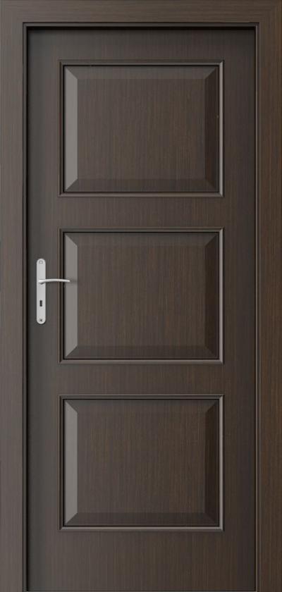 Drzwi wewnętrzne Porta NOVA 4.1 Okleina Portadecor *** Wenge