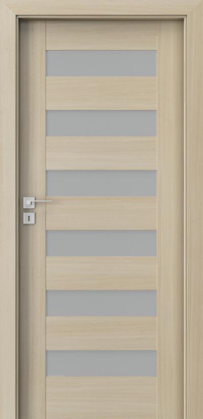 Drzwi wewnętrzne Porta KONCEPT C.6 Okleina Portaperfect 3D **** Dąb Malibu