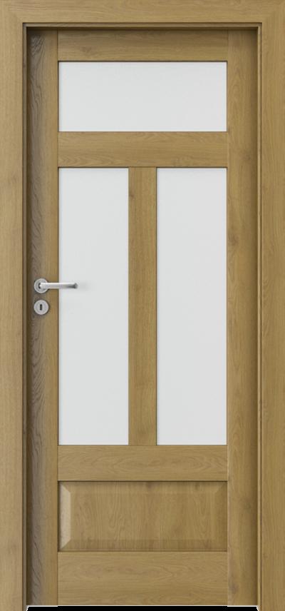 Drzwi wewnętrzne Porta HARMONY B.2 Okleina Portaperfect 3D **** Dąb Naturalny