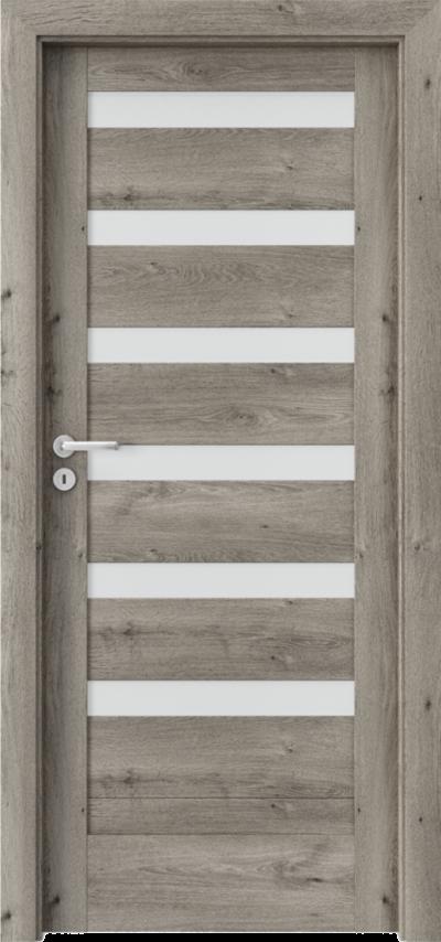 Drzwi wewnętrzne Porta VERTE HOME, D D.6 Okleina Portaperfect 3D **** Dąb Syberyjski