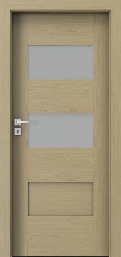 Drzwi wewnętrzne Natura KONCEPT K.2 Okleina Naturalna Select **** Dąb