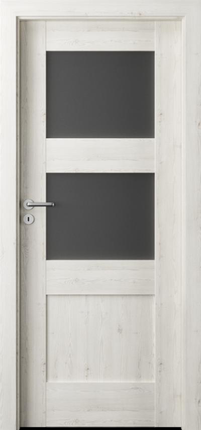 Drzwi wewnętrzne  Porta VERTE PREMIUM, B B.2 Okleina Portasynchro 3D *** Sosna Norweska