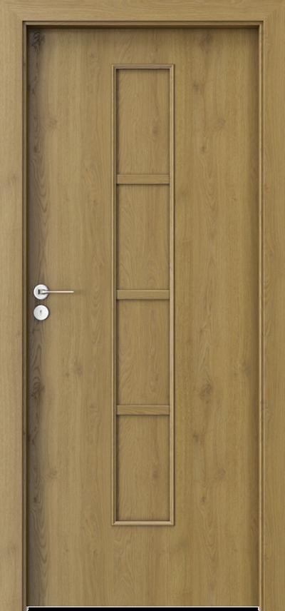 Drzwi wewnętrzne Porta STYL 2 z panelem Okleina Portaperfect 3D **** Dąb Naturalny
