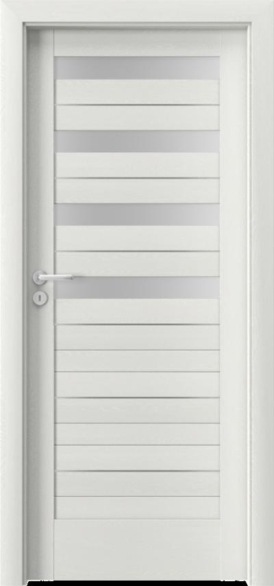 Drzwi wewnętrzne Porta VERTE HOME D.4 intarsje