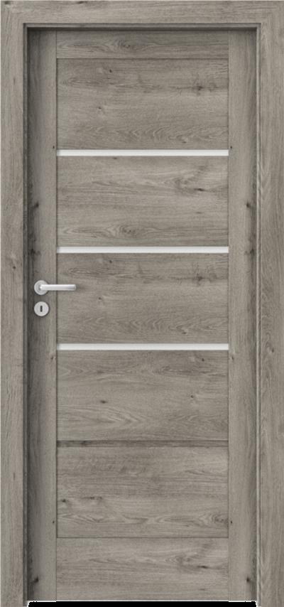 Drzwi wewnętrzne Porta VERTE HOME, G G.3 Okleina Portaperfect 3D **** Dąb Syberyjski