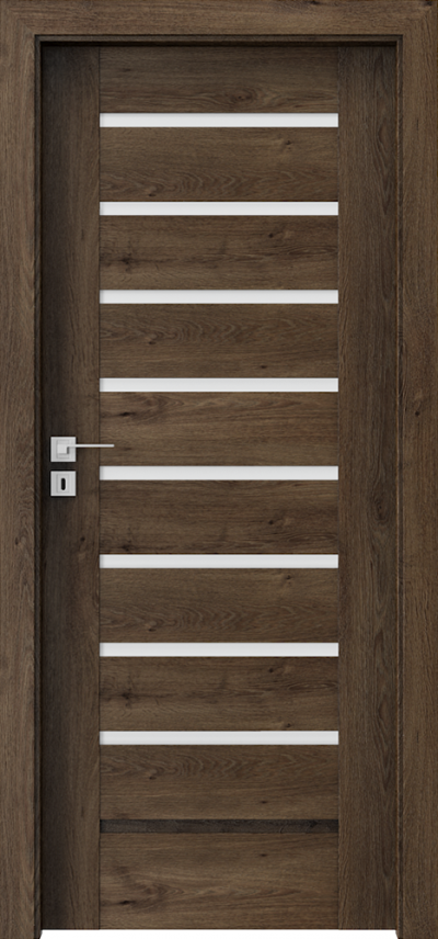 Drzwi wewnętrzne Porta KONCEPT A.8 Okleina Portaperfect 3D **** Dąb Południowy